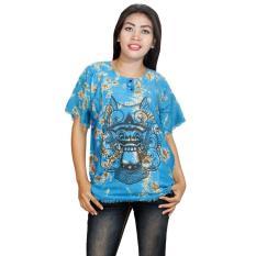 Kaos Bali Batik, Kaos Santai, Baju Tidur, Atasan Wanita (KPT001-09) Batik Alhadi