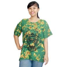 Kaos Bali Batik, Kaos Santai, Baju Tidur, Atasan Wanita (KPT001)BatikAlhadi Online