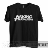Harga Kaos Band Asking Alexandria Kaos Distro Custom Baru Murah