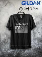 Kaos Band Metal Lamb Of God Log Pure American Metal