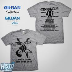 Kaos Band Rock Metal Generation Axe Asia Tour 2017 - GAXE5 REQ SG
