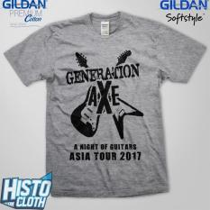 Kaos Band Rock Metal Generation Axe Asia Tour 2017 - GAXE5 SG