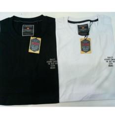 Kaos Big Size Hitam Putih - T-Shirt Pria Ukuran Jumbo - Merk Cressida oirignal - Bahan Katun Halus