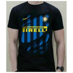 Harga Termurah Kaos Bola 3D Inter Milan Hitam