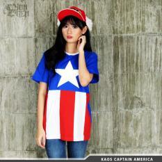 Harga Kaos Captain America Avengers Asli