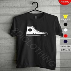 Kaos Converse Shoes / Kaos Tshirt All Star Converse Shoes