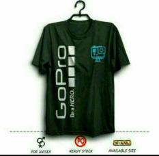 Kaos Cotton Combed Gildan (UNISEX) Gildan Tshirt Baju/Oblong Baju/Oblong GO PRO