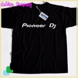 Diskon Kaos Cotton Distro Pioneer Dj Warna Hitam Not Specified Di Jawa Barat