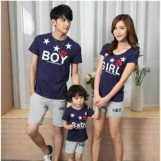 Kaos Couple Keluarga Boy Girl Baby