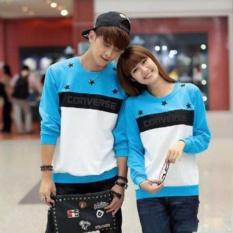 BUTIKONLINE83 - Sweater Couple Lengan Panjang  Baju Couple  Kaos Kapel  Pakaian Pasangan / Kembar ( Couple / Capel / Copel )