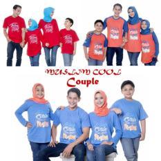 Kaos Couple Muslim Cool Anak Cowo Size 1-6 Tahun Baju Anak Muslim