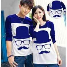 Kaos Couple Spandek -FE CP Moustache Benhur