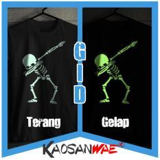 Top 10 Kaos Dab Skull Dabbin Gaya Pahlawan Bertopeng Anime Lucu Hip Hop Lucifer Salutes Gid Glow In The Dark Tshirt Kaosanwae Online