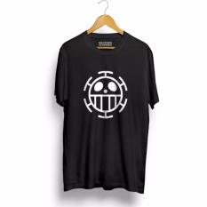 Jual Kaos Distro Anime One T Shirt Black Premium Grosir