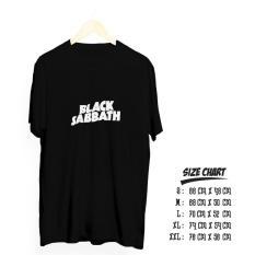 Harga Kaos Distro Band Metal Blacksabat Cotton Combed 30S Premium Asli