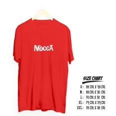Harga Kaos Distro Band Mocca Cotton Combed 20S Kaos Online
