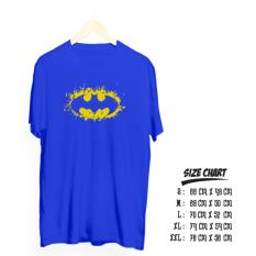 Promo Kaos Distro Batman Splash Cotton Combed 30S Good Quality Kaos Terbaru