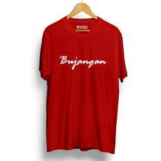 Spesifikasi Kaos Distro Bujangan T Shirt Merah Dan Harganya