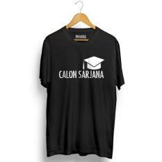 Toko Kaos Distro Calon Sarjana T Shirt Hitam Online Banten