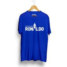 Jual Kaos Distro Cristiano Ronaldo Cr7 T Shirt Biru Grosir