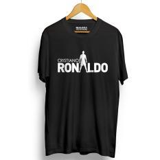 Kaos Distro Cristiano Ronaldo Cr7 T Shirt Hitam Asli