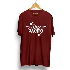 Spesifikasi Kaos Distro Despacito T Shirt Maroon Lengkap Dengan Harga