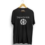 Harga Kaos Distro Dream Theater T Shirt Hitam Fullset Murah
