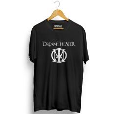 Harga Kaos Distro Dream Theater T Shirt Hitam Murah