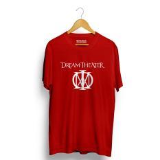 Toko Kaos Distro Dream Theater T Shirt Merah Banten