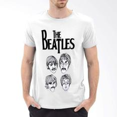 Harga Kaos Distro Eceran Babatox The Beatles Asli Babatox Cloth