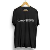 Jual Kaos Distro Game Of Thrones T Shirt Hitam Lengan Pendek