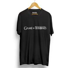 Harga Kaos Distro Game Of Thrones T Shirt Hitam Lengan Pendek Termahal