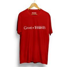 Promo Toko Kaos Distro Game Of Thrones T Shirt Merah Lengan Pendek