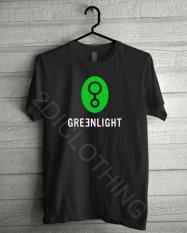 Kaos Distro Greenlight Logo Terbaru / Kaos Greenlight Ariel / Tshirt Greenlight / Tees Greenlight