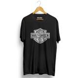 Spesifikasi Kaos Distro Harley Davidson T Shirt Hitam Bagus