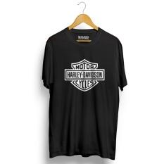 Jual Kaos Distro Harley Davidson T Shirt Hitam Banten Murah