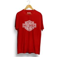 Beli Kaos Distro Harley Davidson T Shirt Merah Kredit