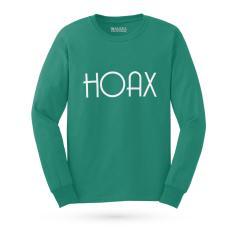 Kaos Distro HOAX T-Shirt Lengan Panjang - Tosca