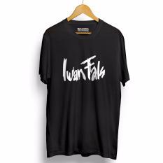 Kaos Distro IWAN FALS - T-Shirt - Hitam
