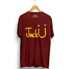 Spesifikasi Kaos Distro Jack U T Shirt Maroon Premium Lengkap