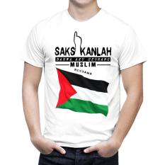 Harga Kaos Distro Kaos 3D Kaos Pria Muslim Palestine Seken