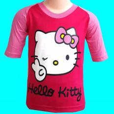 Kaos Distro Karakter Anak Hello Kitty Original
