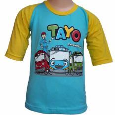 Spesifikasi Kaos Katun Karakter Anak Tayo 01 Terbaik