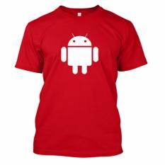 Harga Kaos Distro Naydayna Android Merah Satu Set