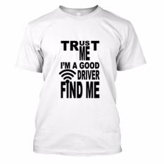Toko Kaos Distro Naydayna Good Driver Putih Online