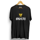Beli Kaos Distro Nkri Negara Kesatuan Republik Indonesia T Shirt Black Yellow Online