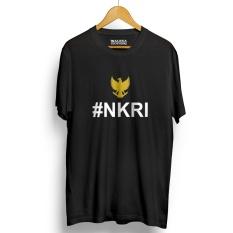 Jual Kaos Distro Nkri Negara Kesatuan Republik Indonesia T Shirt Black Yellow Online Di Banten