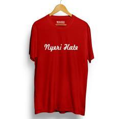Perbandingan Harga Drooms Kaos Distro Nyeri H*t* T Shirt Merah Walexa Clothing Di Banten