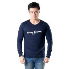 Walexa Kaos Distro Orang Kampung Kualitas Premium Lengan Panjang
