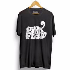 Cuci Gudang Kaos Distro Pink Floyd T Shirt Hitam